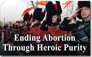 March for Life 2014: Ending Abortion Through Heroic Purity