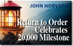 Return to Order Celebrates 20,000 Milestone