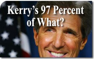 Kerry's 97 Percent of What?