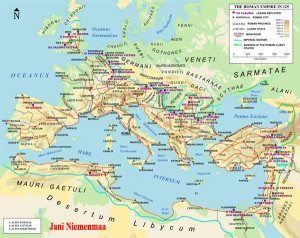 The Romans lacked the flexibility to understand the new situation gradually being created. As the barbarians crossed the Rhine and began their raids, they only met weak, indecisive and inadequate resistance from the Roman legions.