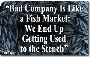 """Socialism Fulfills Its Old Proverb: """"Bad Company Is Like a Fish Market: We End Up Getting Used to the Stench"""""""