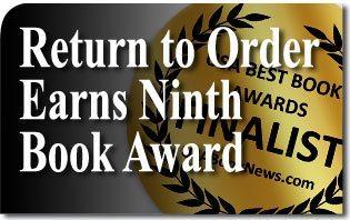Return to Order Earns Ninth Book Award