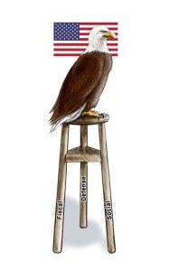Keep the Three-Legged Stool Standing and Strong