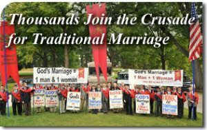 Thousands Across the U.S. Join the Crusade for Traditional Marriage