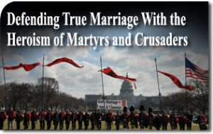 Defending True Marriage With the Heroism of Martyrs and Crusaders
