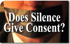 Does Silence Give Consent?