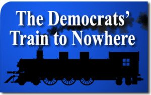 The Democrats' Train to Nowhere