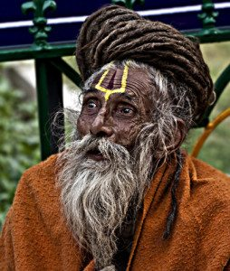 "When young people sense the religious and transcendental void that characterizes today's materialistic world, they often times turn to the false mysticism of drugs which is exemplified in this Sadhu ""holy"" man who experiences intense pseudo-spiritual drug trips. ""Sadhu"" by Jakub Michankow is licensed under CC BY 2.0"