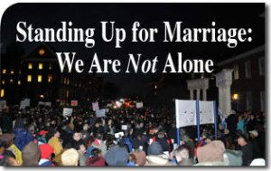 Standing Up for Marriage: We Are Not Alone