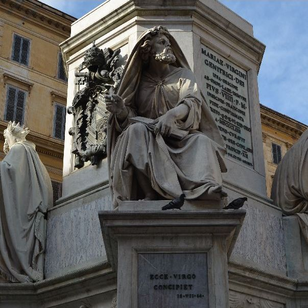 "Prophet Isaias: ""Ecce Virgo concipiet - Behold a virgin will conceive"""