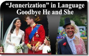 "The ""Jennerization"" of Language: Say Goodbye to He and She"