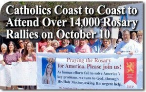 Catholics Coast to Coast to Attend Over 14,000 Rosary Rallies on October 10