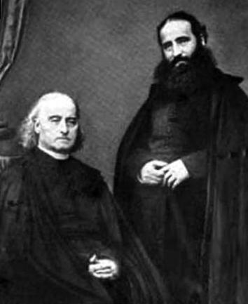 Alphonse and his brother Theodore founded the Congregation of Our Lady of Sion for the conversion of Jews