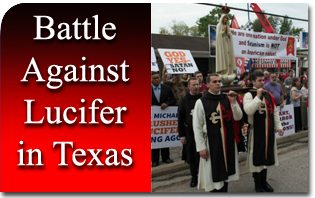 Battle Against Lucifer in Texas