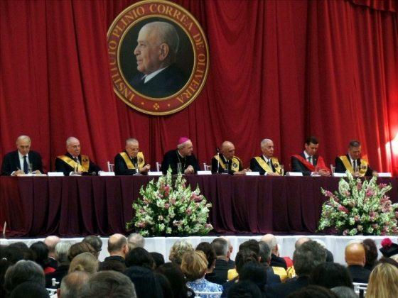 One of the Speaker Panels at the twentieth anniversary commemoration of Professor Plinio Corrêa de Oliveira's death