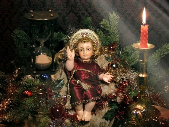 The Divine Infant Child Jesus at the American TFP center