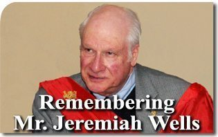 Remembering Mr. Jeremiah Wells