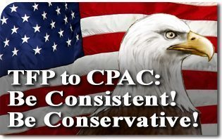 TFP to CPAC: Be Consistent! Be Conservative!