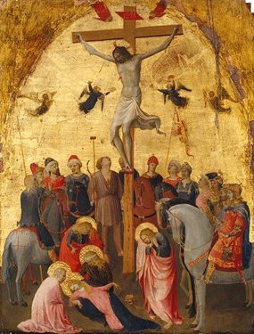 The Crucifixion of Christ on the Cross by Fra Angelico