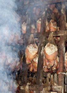 Newsom's Smokehouse Cold Smoke process of curing hams