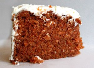 A heavenly slice of Lloyd's Carrot Cake. Photo Credit: Lloyd's Carrot Cake.