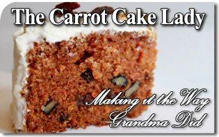 Photo Credit: Lloyd's Carrot Cake.