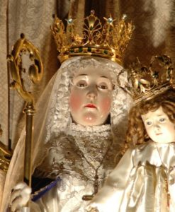 Our Lady of Good Success who appeared to Mother Mariana of Jesus Torres y Berriochoa, a nun of the Conceptionist Order, in Quito, Ecuador.