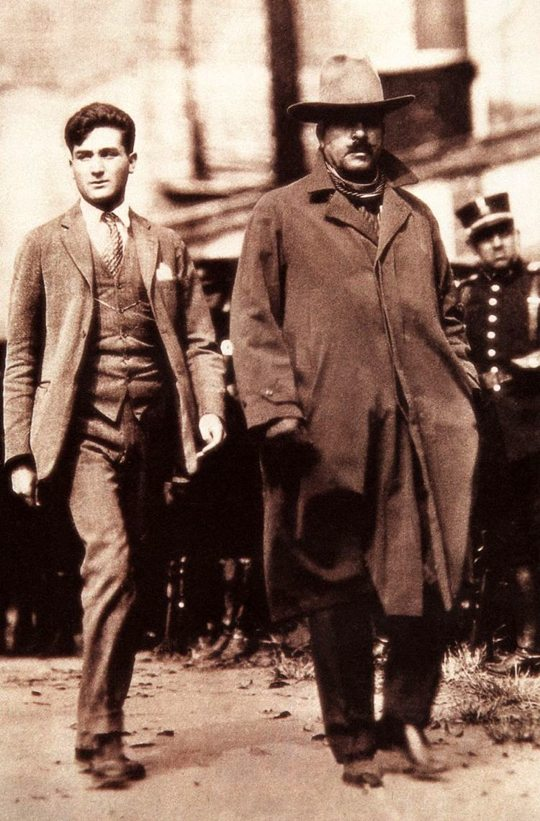 """""""Long Live Christ the King!"""" Young Mexican, Authentic Model of a Catholic Hero-The young Luis Segura Vilchis (1903-1927) walks tranquilly to his death. His self-mastery impressed the witnesses and even moved the Commander and the soldiers of the firing squad."""