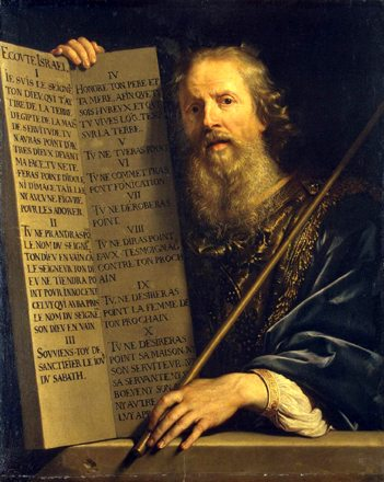 Moses with the Ten Commandments, If God has given America this reprieve, we must use it to turn back to Him and His laws