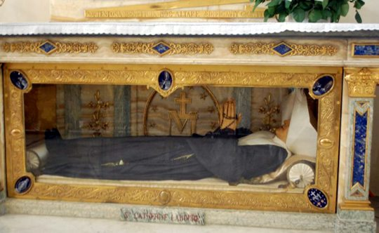 Incorrupt body of Saint Catherine Labouré, Rue du Bac, Paris, France