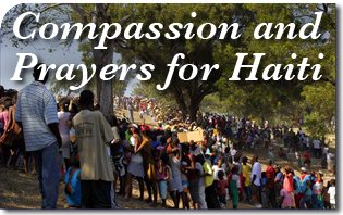 Compassion and Prayers for Haiti