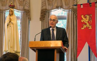 Prof. Roberto de Mattei Speaks at Cosmos Club
