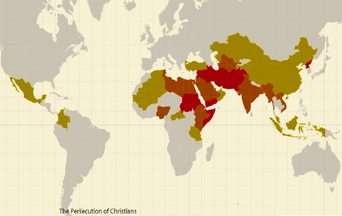 Persecution of Christians at Extreme Levels Worldwide