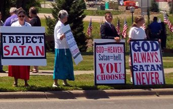 A Call to Protest the Growing Threat from Satanism