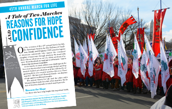 A Tale of Two Marches: Reasons for Hope and Confidence
