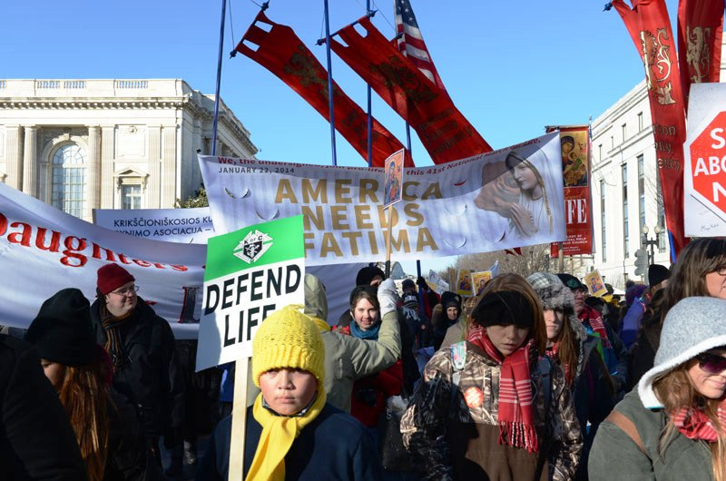 45th Annual March for Life - A Tale of Two Marches: Reasons for Hope and Confidence