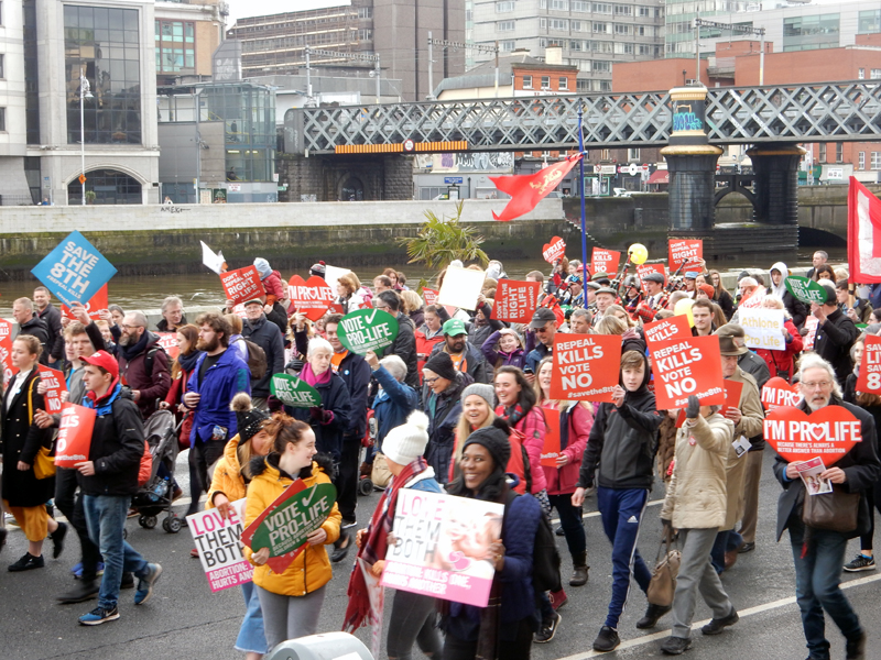 Record-Breaking: 100,000 Rally for Life in Ireland