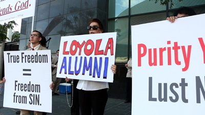 Catholics Protest Fr. James Martin Speaking at Loyola Commencement