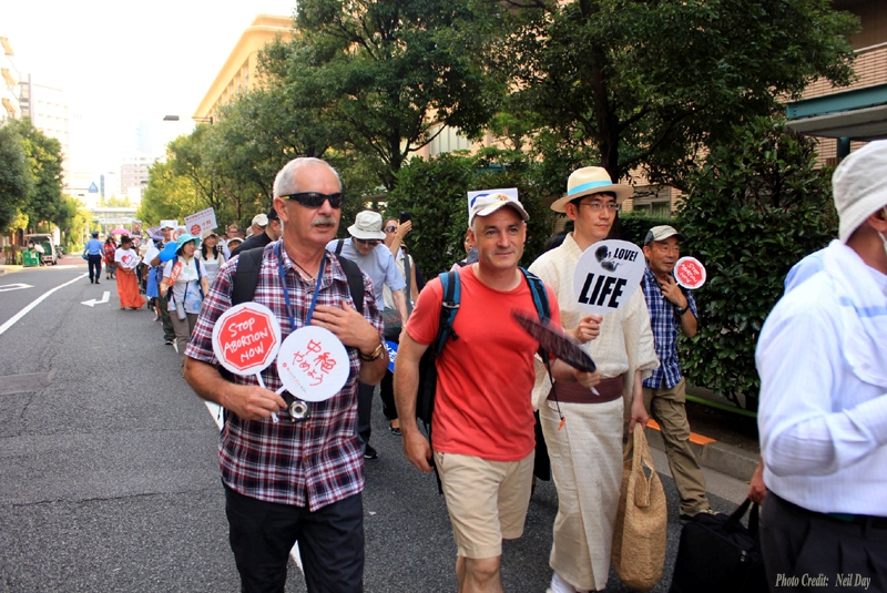 Fifth Annual March for Life in Tokyo, Japan