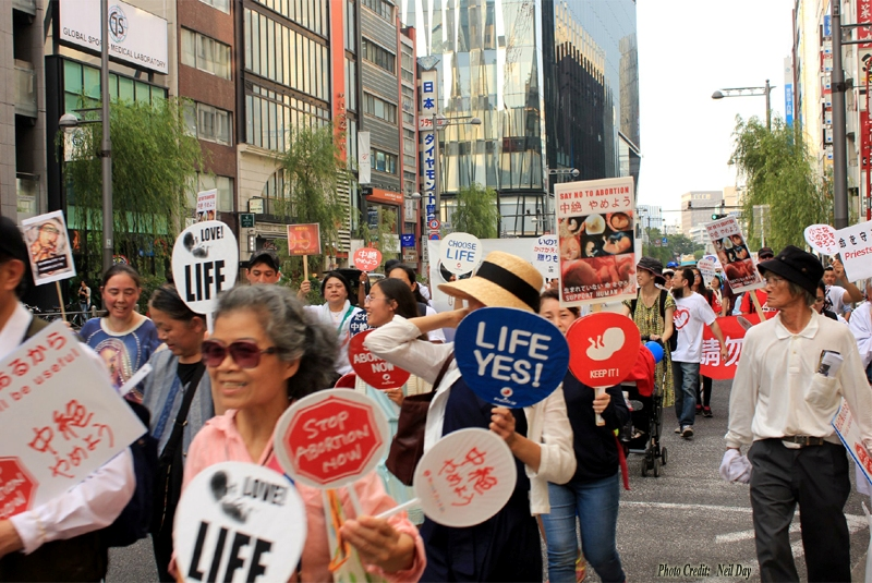 March for Life in Tokyo
