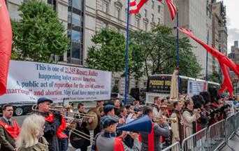 Catholics Storm the Public Squares Praying the Rosary Worldwide