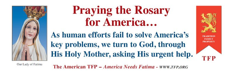 Nearly 23,000 Rosary Rallies Call for Nation's Conversion: Will You Be There on October 13?