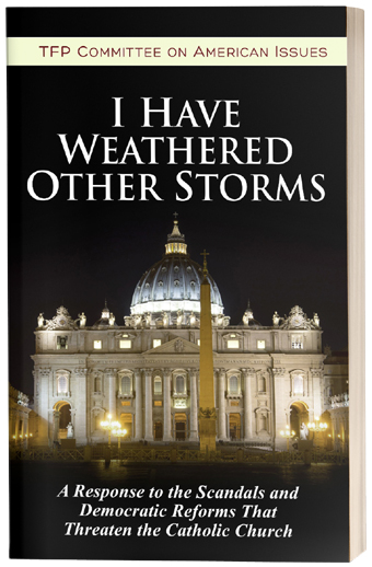 I Have Weathered Other Storms: A Response to the Scandals and Democratic Reforms that Threaten the Catholic Church