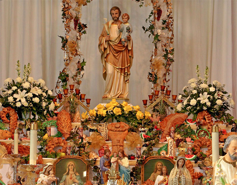 Saint Joseph's Altars: Giving of the King's Bounty