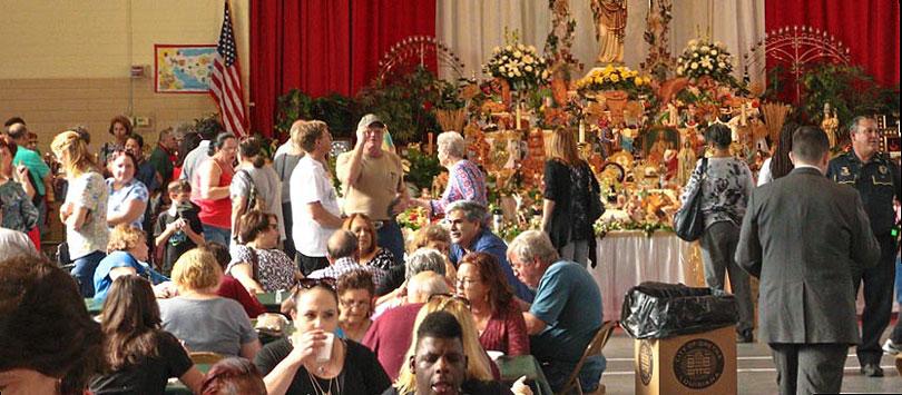 Saint Joseph's Altars: Giving of the King's Bounty