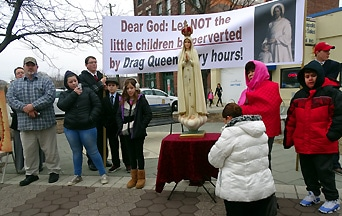 The Clash of Two Queens: A Battlefield Report on an Attack on Our Lady During a Rosary Rally