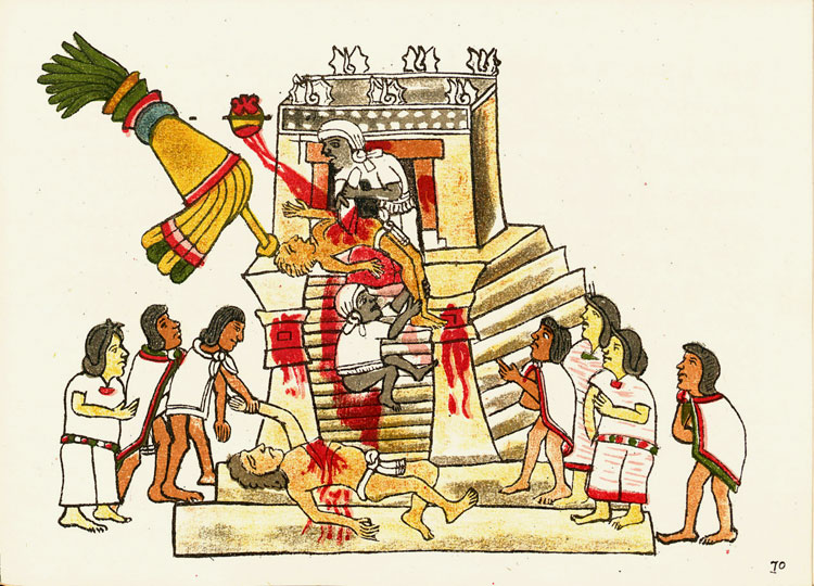 Human Sacrifice by the Aztecs