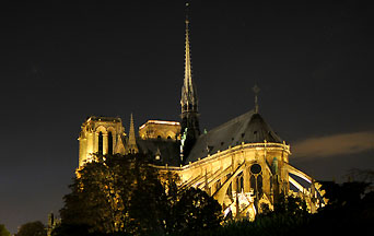 Notre-Dame de Paris: the Light and the Flames