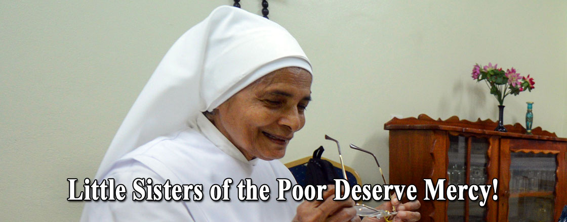 Little Sisters of the Poor Deserve Mercy!