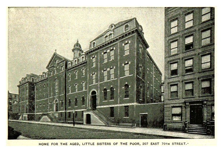 Little Sisters of the Poor Home for the Aged in New York City, 1893